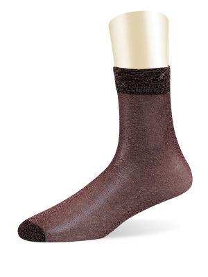 Носки, 5 пар Glamuriki. Цвет: красный
