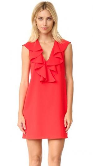 Платье Carnegie Amanda Uprichard. Цвет: яблоко в карамели