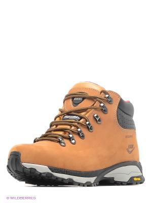 Ботинки Ascot. Цвет: светло-коричневый, бежевый, оранжевый