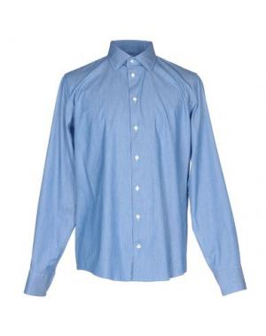 Pубашка RICHARD JAMES. Цвет: грифельно-синий