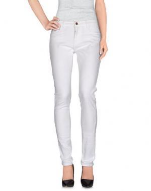 Повседневные брюки SMITH'S AMERICAN. Цвет: белый