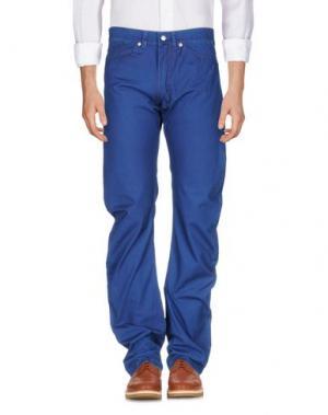 Повседневные брюки ANDREW MACKENZIE. Цвет: синий