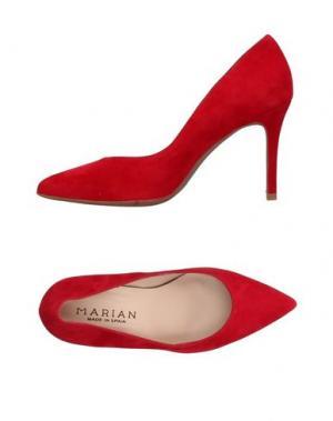 Туфли MARIAN. Цвет: красный