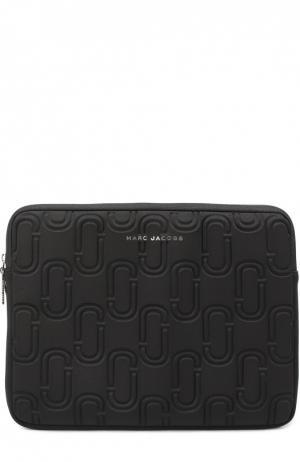 Чехол Double J для ноутбука Marc Jacobs. Цвет: черный