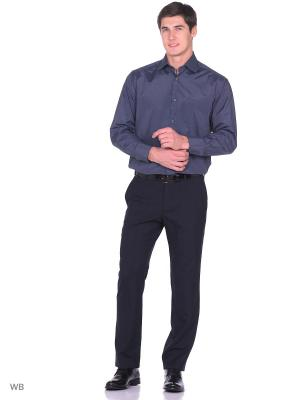 Рубашка Nicolo Angi. Цвет: темно-серый