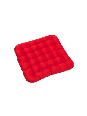 Подушка на стул SMART-TEXTILE. Цвет: красный