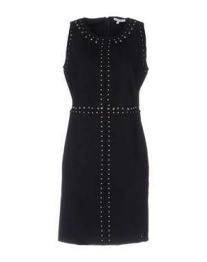 Короткое платье KORALLINE. Цвет: черный