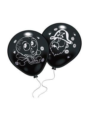 8 шариков Пираты Everts. Цвет: черный