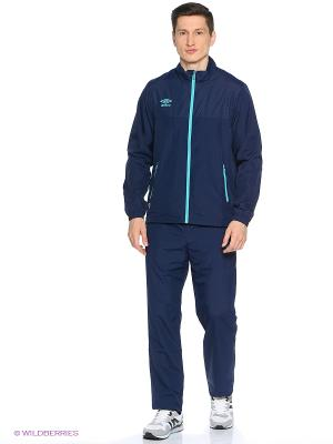 Куртка Umbro. Цвет: бирюзовый