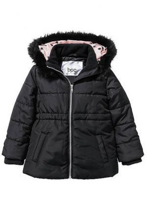 Куртка. Цвет: черный