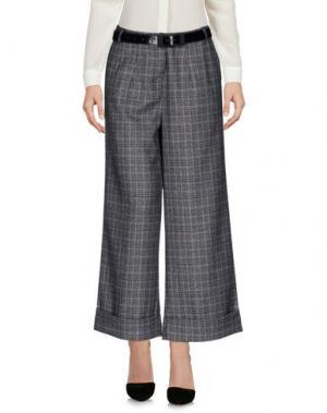 Повседневные брюки KORALLINE. Цвет: серый