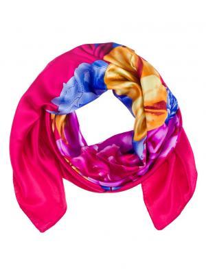 Платок Vita pelle. Цвет: красный, фиолетовый