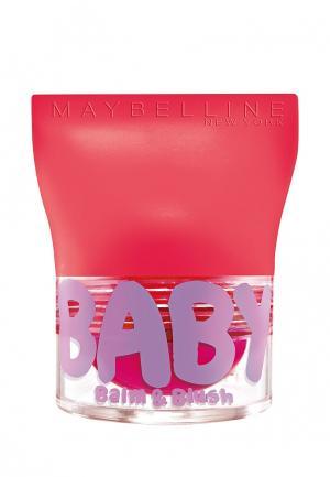 Бальзам для губ Maybelline New York. Цвет: розовый