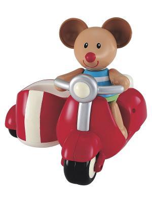 Мышка на красном скутере (TB) ELC. Цвет: красный
