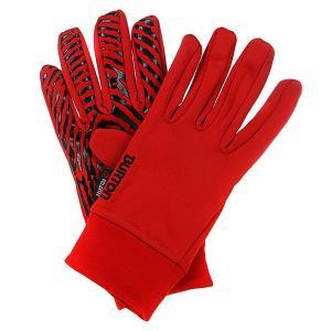 Перчатки сноубордические  Mb Powerstretch Lnr Marauder Burton. Цвет: красный
