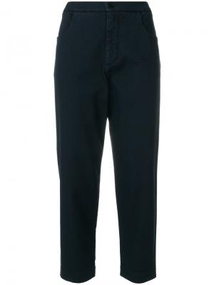 Укороченные брюки Barena. Цвет: синий