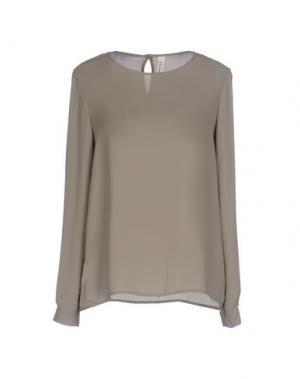 Блузка SOUVENIR. Цвет: зеленый-милитари