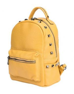 Рюкзаки и сумки на пояс PARENTESI. Цвет: охра