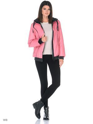 Куртка CATTAIL WILLOW. Цвет: розовый