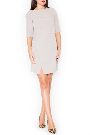 Платье KATRUS. Цвет: beige