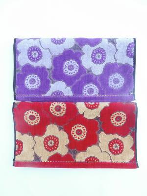 Полотенца банные, 2 шт A and C Collection. Цвет: темно-красный, фиолетовый