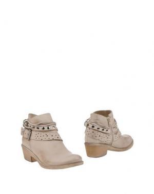 Полусапоги и высокие ботинки FABRIZIO CHINI. Цвет: светло-серый