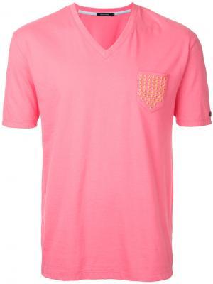 Футболка с принтом Guild Prime. Цвет: розовый и фиолетовый