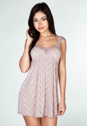 Сорочка ночная Rose&Petal. Цвет: фиолетовый