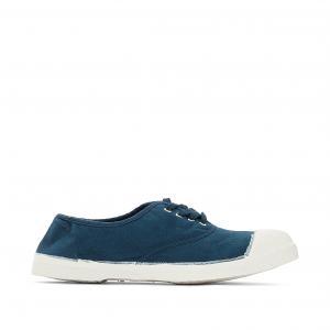 Кеды на шнуровке BENSIMON. Цвет: голубой бирюзовый