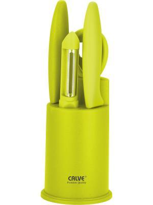 Набор ножей Calve. Цвет: зеленый