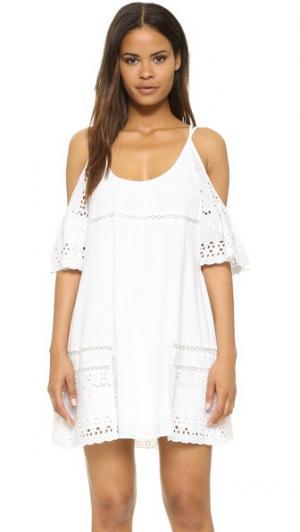 Платье Nancy dRA. Цвет: белый