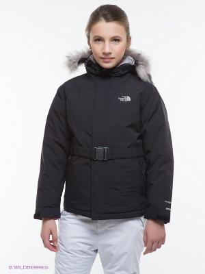 Куртка The North Face. Цвет: черный