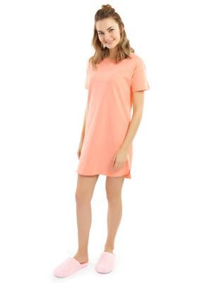 Ночная сорочка ТВОЕ. Цвет: оранжевый