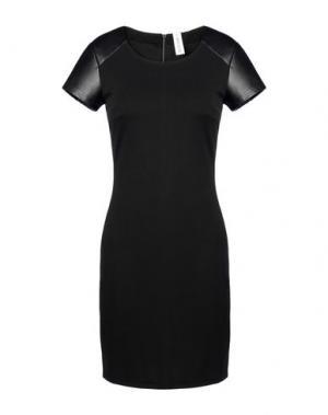 Короткое платье EARTH COUTURE. Цвет: черный