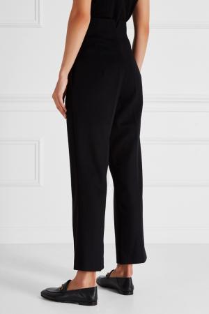 Шерстяные брюки Ruban. Цвет: черный