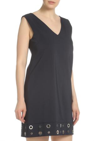 Платье с металлическим декором Beatrice. B. Цвет: темно-синий, кольца