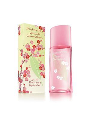 Green Tea Cherry Blossom Туалетная вода 100 мл ELIZABETH ARDEN. Цвет: прозрачный