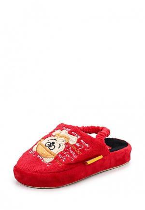 Тапочки Dream Feet. Цвет: красный