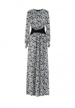 Платье Bella Kareema. Цвет: черно-белый