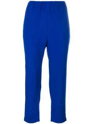 Укороченные брюки Marni. Цвет: синий