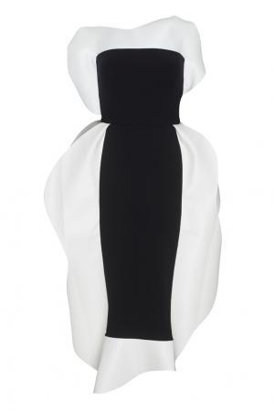 Платье Jellyfish A.W.A.K.E.. Цвет: черно-белый