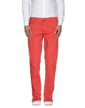 Повседневные брюки RE.BELL. Цвет: коралловый
