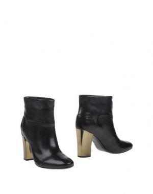 Полусапоги и высокие ботинки AERIN. Цвет: черный