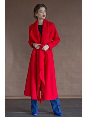 Пальто Levall. Цвет: красный