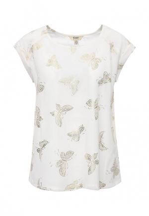 Блуза Y by Yumi. Цвет: белый