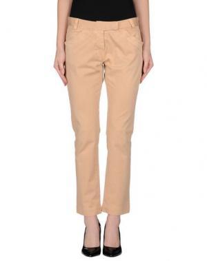 Повседневные брюки HISTORIC RESEARCH. Цвет: песочный