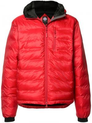 Padded jacket Canada Goose. Цвет: красный
