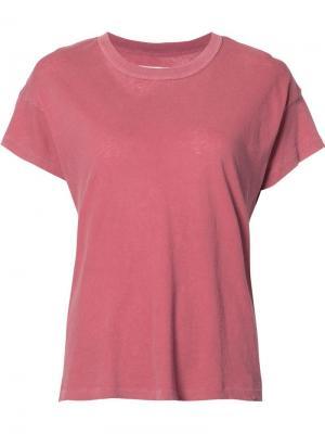 Базовая футболка The Great. Цвет: красный