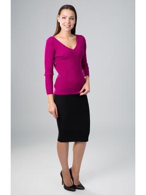 Пуловер Sharvell. Цвет: малиновый
