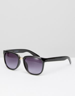 AJ Morgan Солнцезащитные очки. Цвет: черный